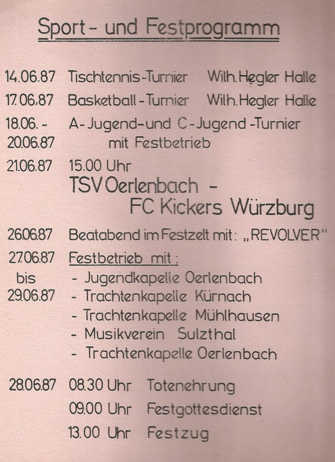 75 Jahre TSV