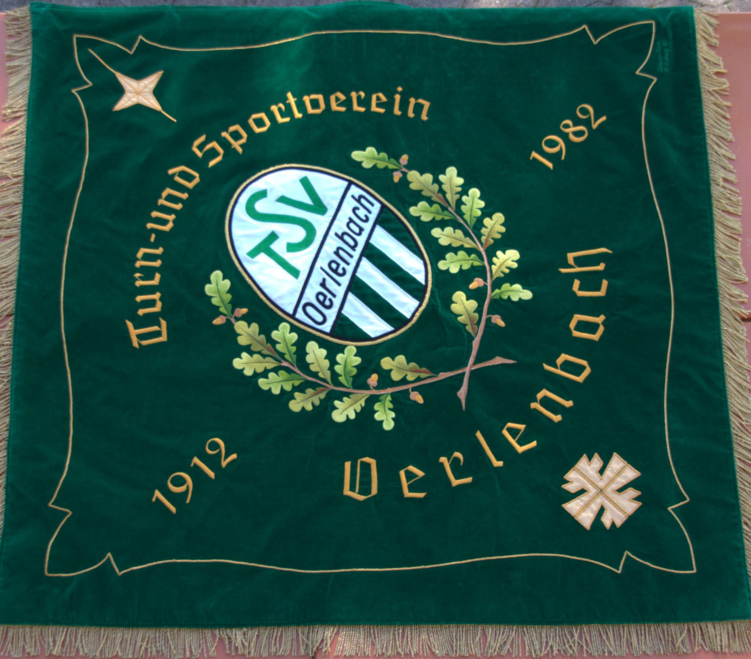 TSV Oerlenbah Fahne